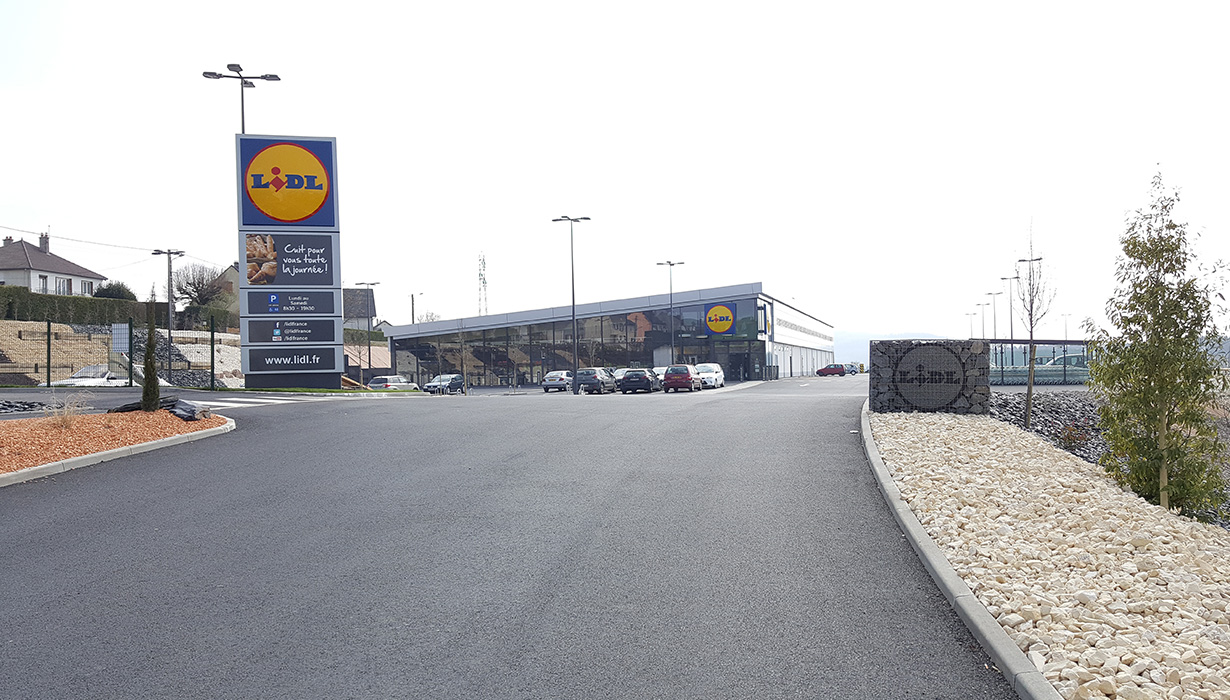 LIDL Château-Chinon (photos)
